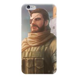 "Чехол для iPhone 6 ""Солид Снейк"" - mgs, diamond dogs, metal gear solid, venom snake, the phantom pain"