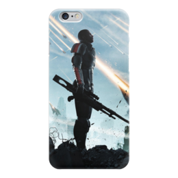 "Чехол для iPhone 6 ""Масс Эффект (Mass Effect)"" - mass effect, n7, масс эффект, шепард, жнецы"
