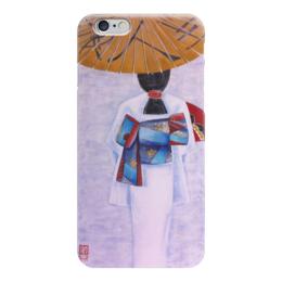 """Чехол для iPhone 6 """"кимоно"""" - этно, япония, кимоно"""