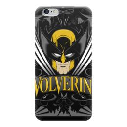 "Чехол для iPhone 6 ""Росомаха"" - комиксы, росомаха, люди икс, wolverine, логан"
