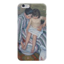 """Чехол для iPhone 6 """"Купание ребёнка"""" - картина, кассат"""