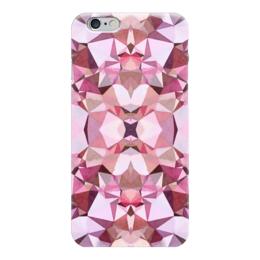 """Чехол для iPhone 6 """"Бутон"""" - белый, бордовый, розовый"""