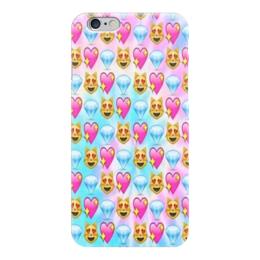 """Чехол для iPhone 6 глянцевый """"Smile"""" - арт, smile, улыбка, смайлы, вконтакте"""