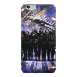 "Чехол для iPhone 6 ""Mass Effect"" - арт, mass effect, команда"