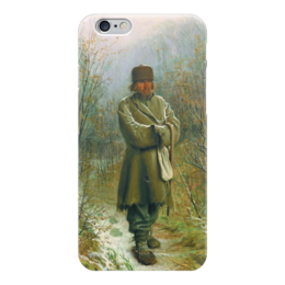 "Чехол для iPhone 6 ""Созерцатель (картина Крамского)"" - картина, крамской"