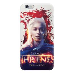 """Чехол для iPhone 6 """"игры престолов"""" - сериалы, фантастика, фильмы, фэнтази, игры престолов"""