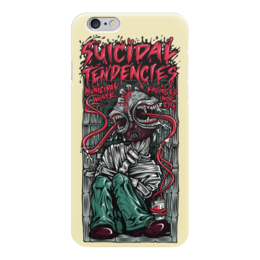 "Чехол для iPhone 6 глянцевый ""Suicidal Tendencies band"" - heavy metal, рок музыка, thrash metal, хеви метал, suicidal tendencies"