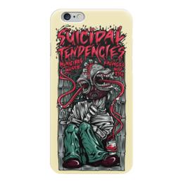 "Чехол для iPhone 6 ""Suicidal Tendencies band"" - heavy metal, рок музыка, thrash metal, хеви метал, suicidal tendencies"