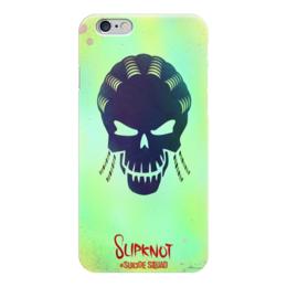 """Чехол для iPhone 6 """"Отряд самоубийц"""" - арт, стиль, dc комиксы, слипнот"""