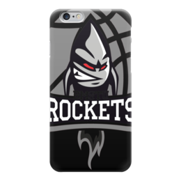 "Чехол для iPhone 6 ""BMSTU Rockets black edition "" - мгту, бауманские ракеты"