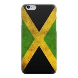 "Чехол для iPhone 6 ""Флаг Ямайки"" - ямайка, jamaica"