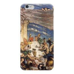 "Чехол для iPhone 6 ""Оргия"" - картина, сезанн"