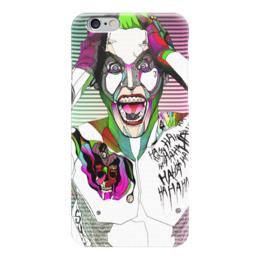 "Чехол для iPhone 6 ""Джокер"" - jared leto, joker, джокер, отряд самоубийц, suicide squad"