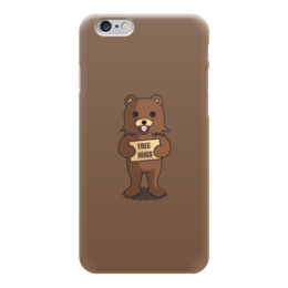 "Чехол для iPhone 6 ""Медведь"" - bear, медведь, free hugs, мульт"