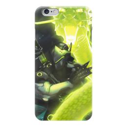 "Чехол для iPhone 6 ""Гэндзи"" - blizzard, близзард, overwatch, овервотч, genji"