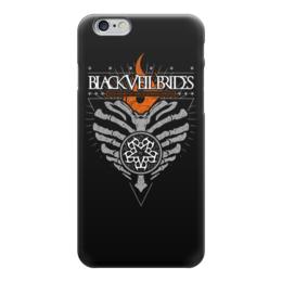"""Чехол для iPhone 6 глянцевый """"Black Veil Brides"""" - black veil brides, музыка, группы, рок, метал"""
