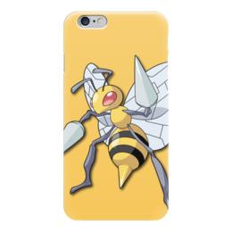"Чехол для iPhone 6 ""Бидрилл"" - нинтендо, nintendo, pokemon go, покемон го, beedrill"
