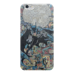 "Чехол для iPhone 6 ""Бэтмен"" - комиксы, batman, dc, dc comics, бэтс"