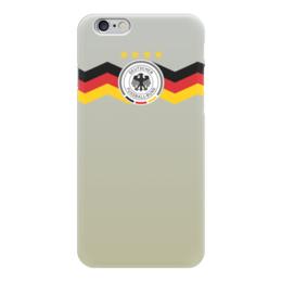 """Чехол для iPhone 6 """"Германия"""" - футбол, германия"""