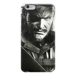 "Чехол для iPhone 6 ""Биг Босс"" - metal gear, big boss"