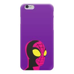 "Чехол для iPhone 6 ""Человек-паук (Spider-man)"" - комиксы, марвел, человек-паук, питер паркер"