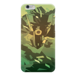 "Чехол для iPhone 6 ""Solid Snake (Metal Gear Solid)"" - metal gear solid, солид снейк, solid snake"