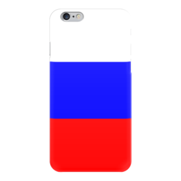 """Чехол для iPhone 6 """"Русский флаг"""" - россия, russia, рф, russian federation, русский флаг"""