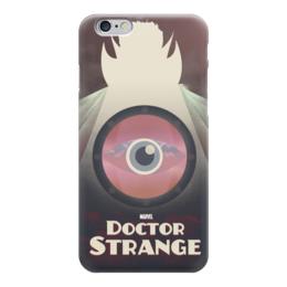 "Чехол для iPhone 6 ""Доктор Стрэндж"" - comics, комиксы, марвел, doctor strange, dr strange"