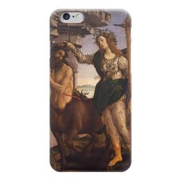 "Чехол для iPhone 6 ""Паллада и Кентавр (картина Боттичелли)"" - картина, боттичелли"