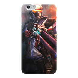 "Чехол для iPhone 6 ""Soldier 76"" - blizzard, близзард, overwatch, овервотч, солдат 76"