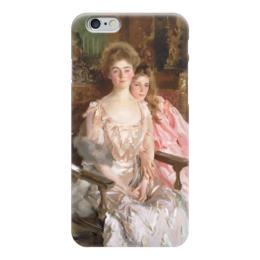"""Чехол для iPhone 6 """"Миссис Фиск Уоррен и ее дочь Рэйчел"""" - картина, сарджент"""