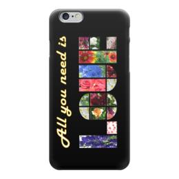 "Чехол для iPhone 6 ""Любовь"" - любовь, битлз, хиппи, буддизм, need love"