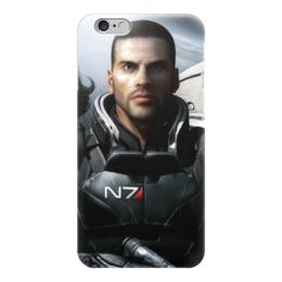 "Чехол для iPhone 6 ""Масс Эффект (Mass Effect)"" - me, mass effect, n7, масс эффект"