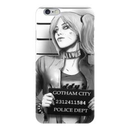 "Чехол для iPhone 6 ""Харли Квинн"" - комиксы, бэтмен, harley quinn, отряд самоубийц, suicide squad"