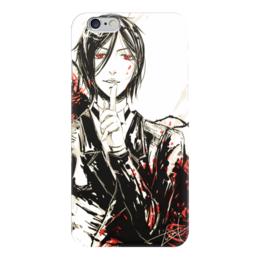 "Чехол для iPhone 6 ""Себастьян Микаэлис"" - темный дворецкий, kuroshitsuji, black butler, black roses, себастьян микаэлис"