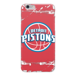 "Чехол для iPhone 6 ""Detroit Pistons"" - баскетбол, detroit pistons, детройт пистонс"