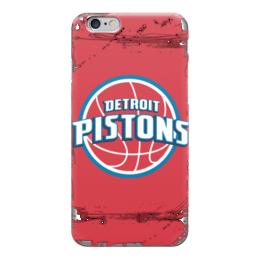 "Чехол для iPhone 6 глянцевый ""Detroit Pistons"" - баскетбол, detroit pistons, детройт пистонс"