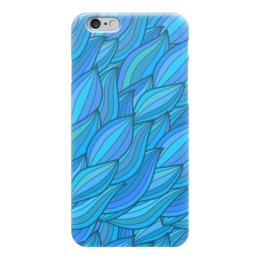 "Чехол для iPhone 6 ""Волны"" - арт, узор, волны, дудл"