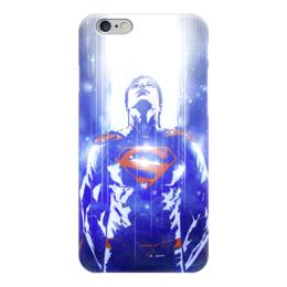 "Чехол для iPhone 6 ""Супермен (Superman)"" - комиксы, superman, супермэн, dc comics, супс"