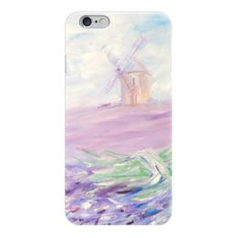 """Чехол для iPhone 6 """"Прованские поля"""" - новый год, оригинальный подарок, чехол на iphone, подарок на новый год"""