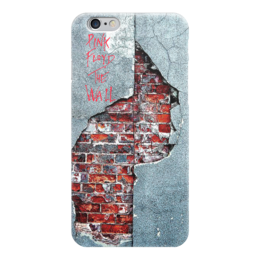 "Чехол для iPhone 6 ""Pink Floyd The Wall"" - стена, рок музыка, пинк флойд, pink floyd, the wall"
