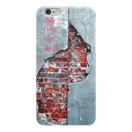 """Чехол для iPhone 6 глянцевый """"Pink Floyd The Wall"""" - pink floyd, the wall, рок музыка, пинк флойд, стена"""