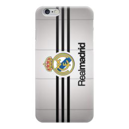 "Чехол для iPhone 6 глянцевый ""Реал Мадрид (Футбол)"" - real madrid, реал мадрид"