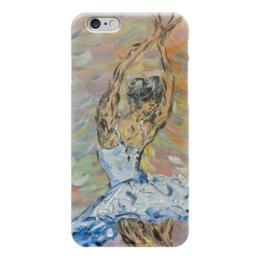 """Чехол для iPhone 6 """"Вдохновение"""" - девушка, танец, красота, балет, балерина"""