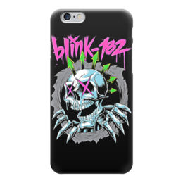 "Чехол для iPhone 6 ""Blink 182 band"" - punk rock, панк, anarchy, анархия, blink 182"