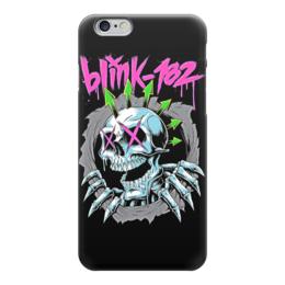 """Чехол для iPhone 6 глянцевый """"Blink 182 band"""" - blink 182, анархия, панк, anarchy, punk rock"""