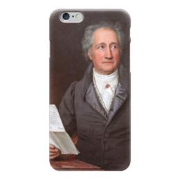 """Чехол для iPhone 6 """"Портрет Иоганна Вольфганга Гёте"""" - картина, штилер"""