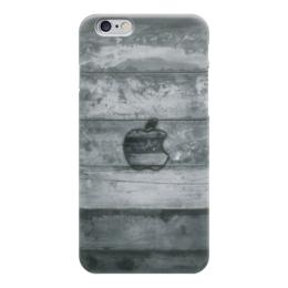 "Чехол для iPhone 6 ""Apple "" - дерево, яблоко, эпл, стив джобс, wood"