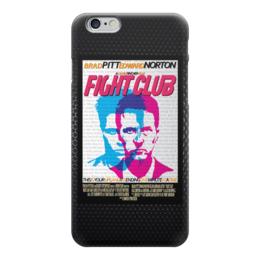 "Чехол для iPhone 6 ""Бойцовский Клуб (Fight Club)"" - бойцовский клуб, эдвард нортон, brad pitt, брэд питт, fight club"