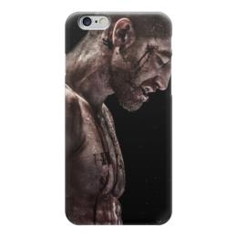 """Чехол для iPhone 6 """"левша"""" - бокс, кино, фильмы, единоборства, левша"""